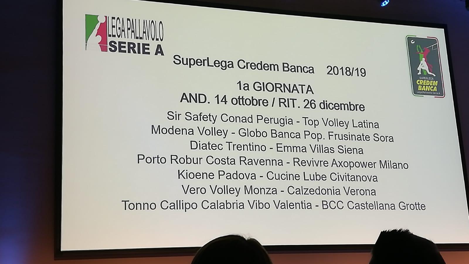 Presentati i campionati di Serie A maschile